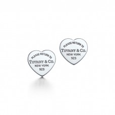 Return to Tiffany collection heart earrings small
