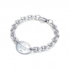 Return to Tiffany collection oval tag bracelet